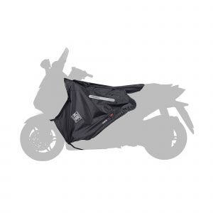 R180 Tucano Urbano Leg Cover Termoscud® Black for MBK/Yamaha