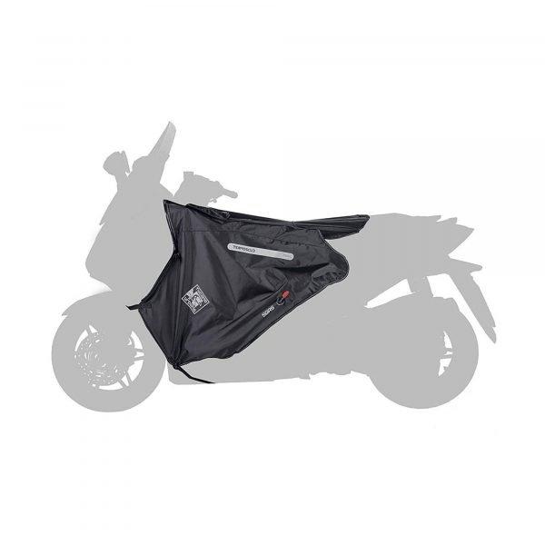 R180 Tucano Urbano Leg Cover Termoscud® Black for MBK/Yamaha