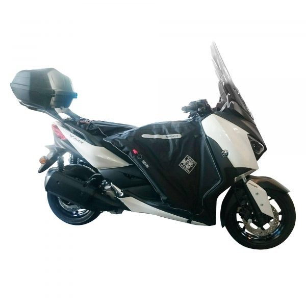 R190 Tucano Urbano Leg Cover Termoscud® Black for MBK/Yamaha