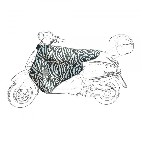 Tucano Urbano Leg Cover Termoscud - zebra