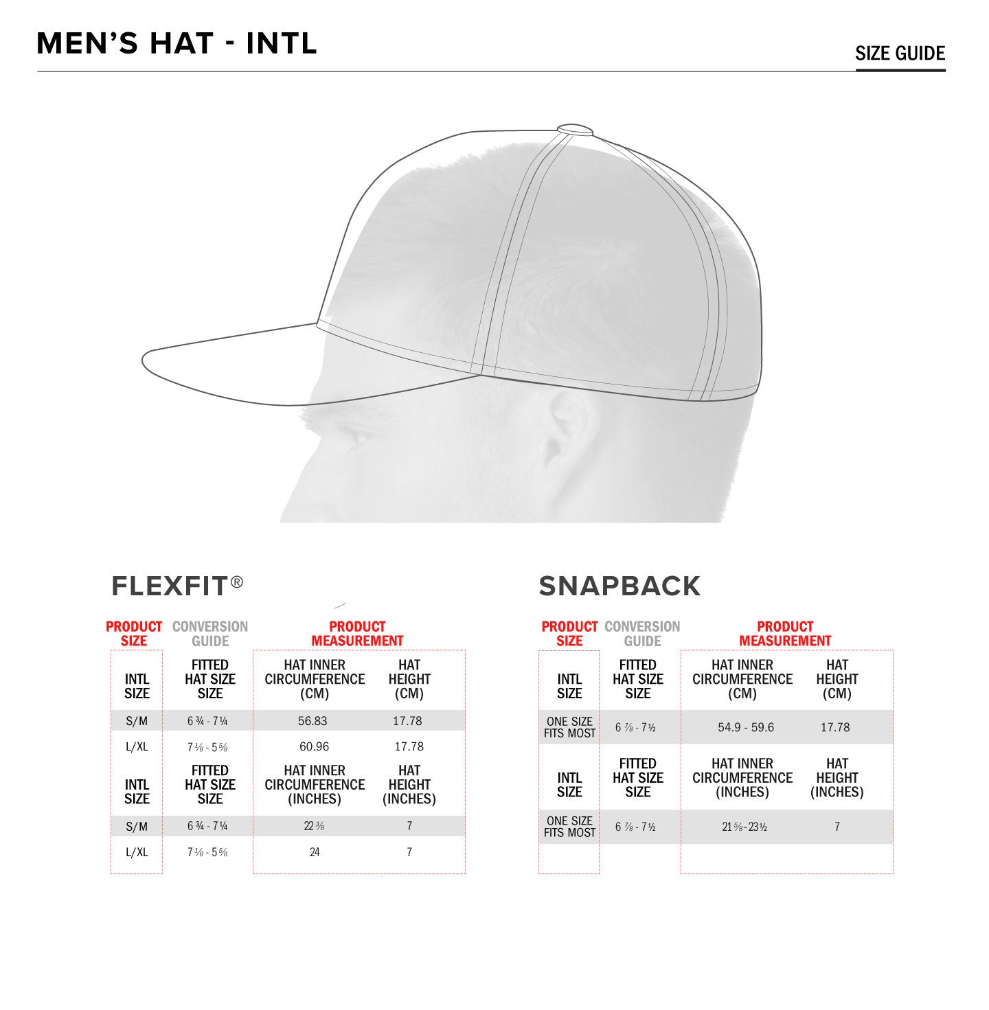 Alpinestars hat size guide