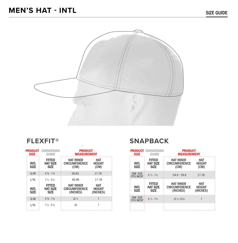 Alpinestars hats size chart