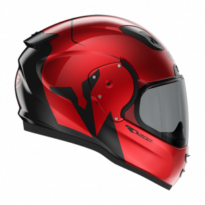 Roof RO200 helmet - Troyan Black Red colour, MCS Shop