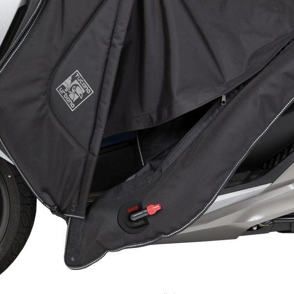 Tucano Urbano Leg Cover Termoscud® Pro Black for Honda - London