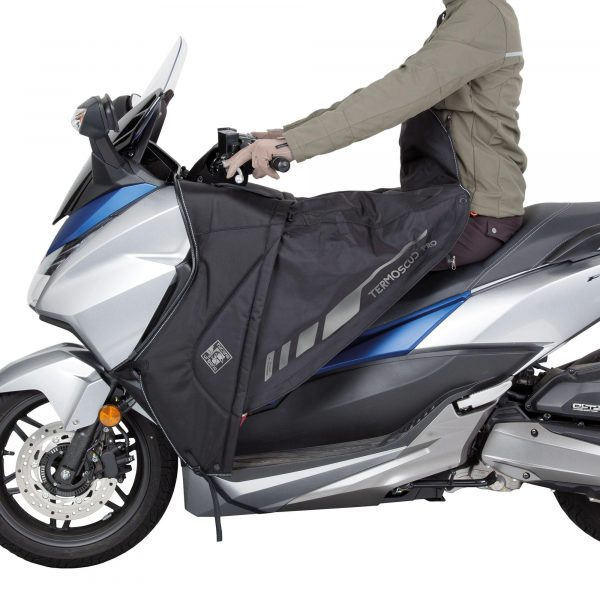 Tucano Urbano Leg Cover Termoscud® Pro Black for Honda - rider, autumn