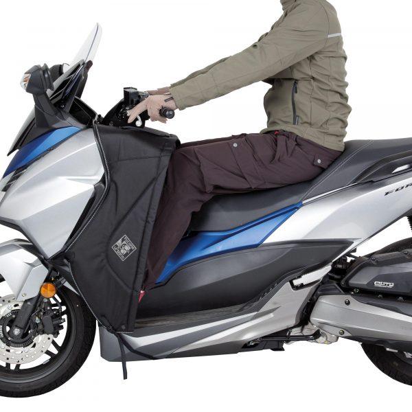 Tucano Urbano Leg Cover Termoscud® Pro Black for Honda - rider, summer