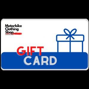 Motorbike Clothing Shop Gift Card
