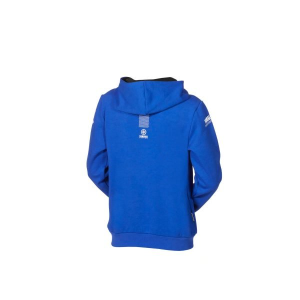 Yamaha Paddock Blue Kids Hoody back