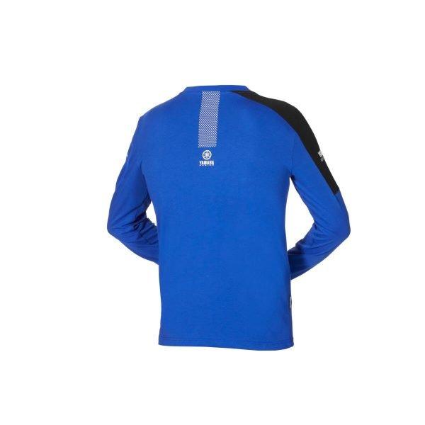Yamaha Paddock Blue Men's Long-sleeved T-Shirt - back