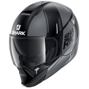 Shark EvoJet Helmet - Vyda Mat Black/Anthracite/Silver colour, Chelsea