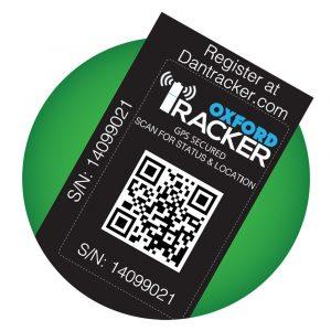 Oxford Asset Tracking Sticker