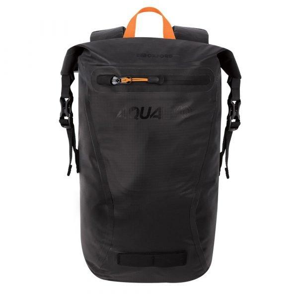 Oxford Aqua Evo 22L Backpack - Black colour, Chelsea Motorcycle Clothing, London
