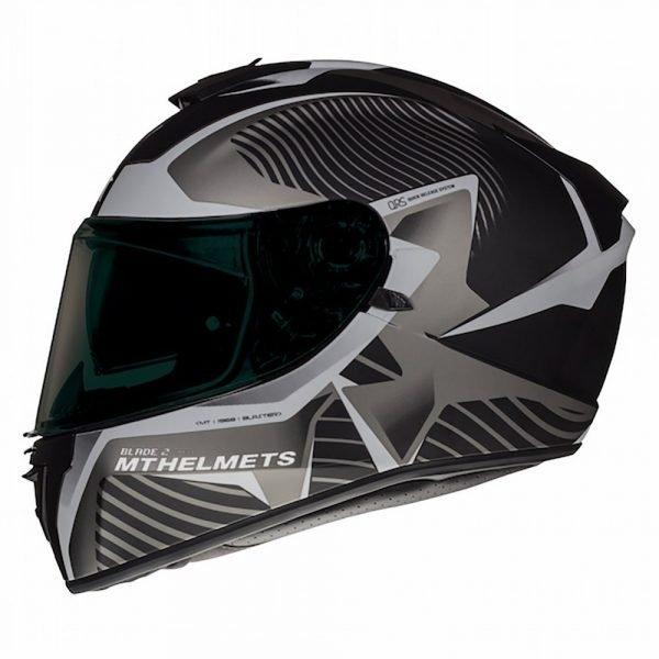 MT Blade 2 Helmet - Grey, London