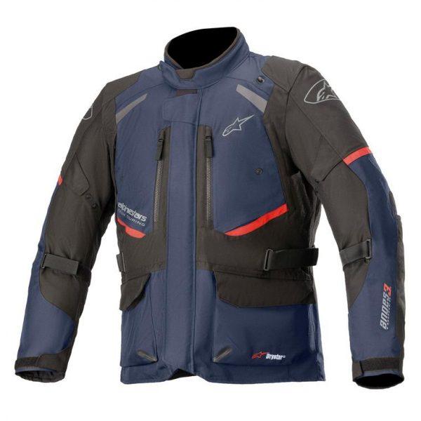 Alpinestars Andes V3 Drystar Jacket - Dark Blue/Black colour, Motorbike Clothing Shop, London