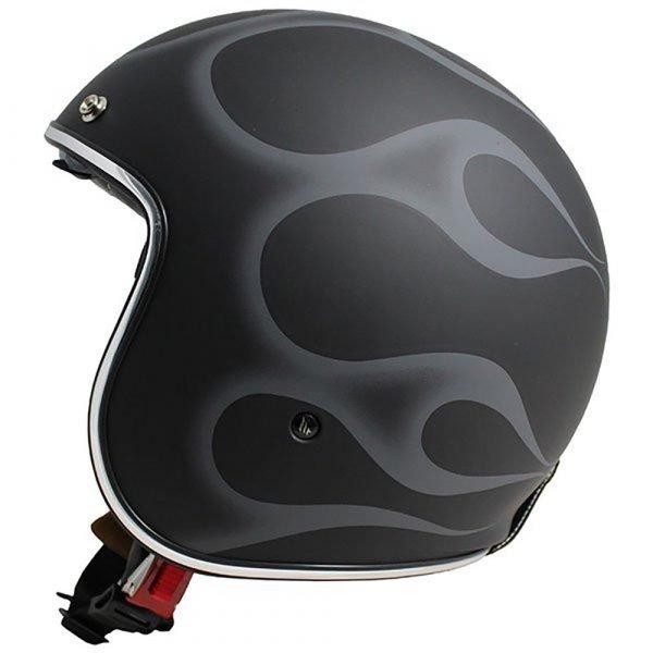MT Le-Mans 2 Helmet - Matt Black/Silver colour, London, UK