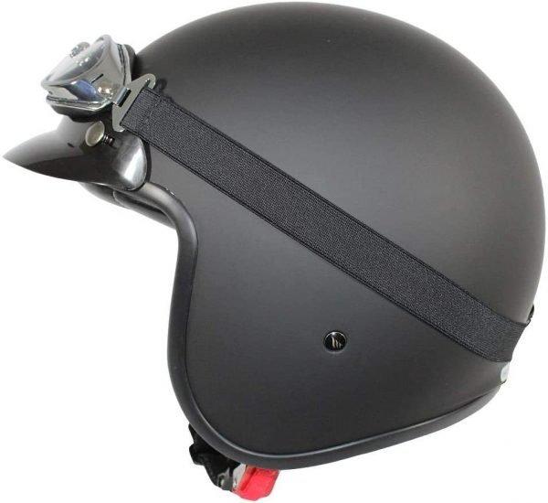 MT Le-Mans 2 Helmet - Pure Matt Black colour, Chelsea, UK