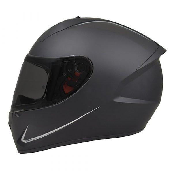 MT Stinger Helmet 2021 - Matt Black colour, Motorcycle Clothing Shop, London