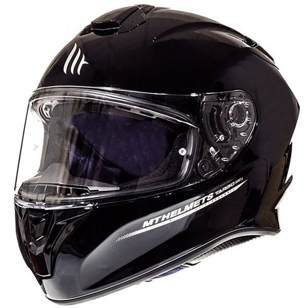 MT Targo Helmet - Gloss Black colour, 2021