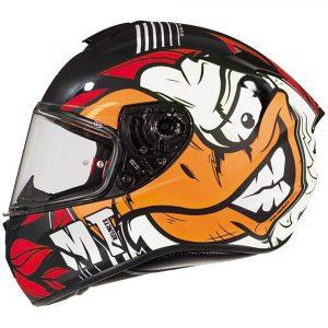 MT Targo Truck Helmet - Black/Red/White colour, MCS Shop, UK