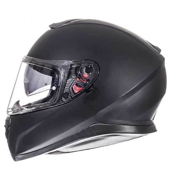 MT Thunder 3 Helmet 2021 - Matt Black colour, Motorcycle Clothing Shop, London UK