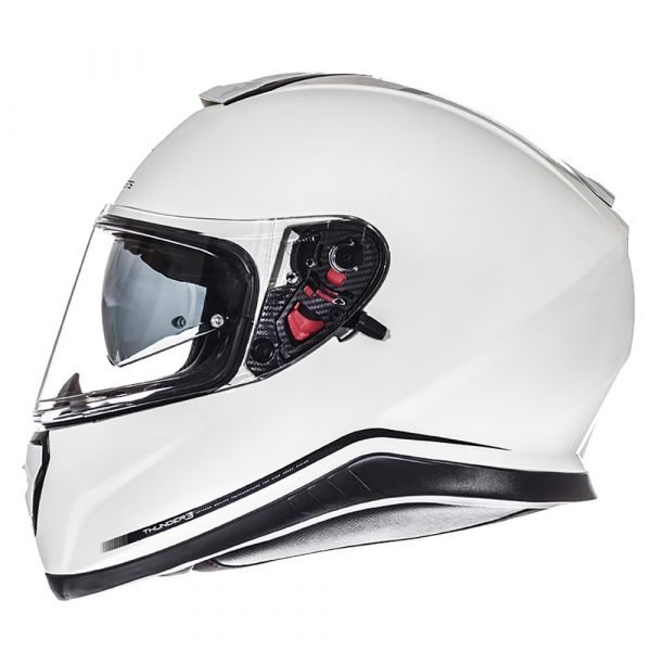 MT Thunder 3 SV Solid Helmet - Pearl White colour