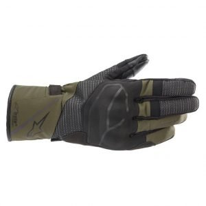 Alpinestars Andes V3 Drystar Gloves - Black/Forest colour, Motorcycle Clothing Store