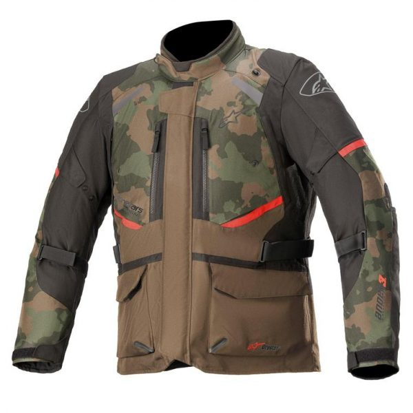 Alpinestars Andes V3 Drystar Jacket - Dark Khaki/Camo colour, London