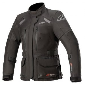 Alpinestars Stella Andes v3 Drystar Jacket - Black/Dark Grey colour