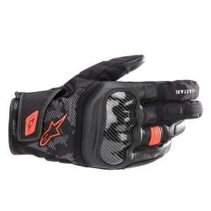 Alpinestars SMX Z Drystar Gloves - Black/Red/Fluo colour, Chelsea, UK