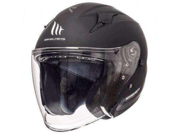 MT Avenue Helmet - Matt Black, Motorbike Clothing Shop