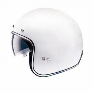 MT Le-Mans Helmet - SV Solid White colour, Chelsea Clothing, UK