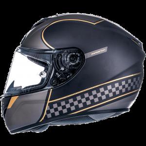 MT Rapide Helmet - Gold/Black