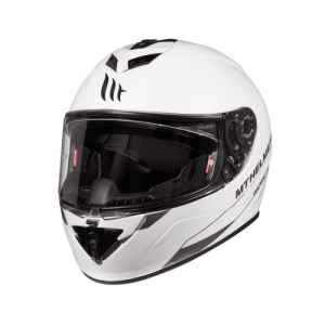 MT Rapide Helmets - Solid A0 Gloss Pearl White - UK