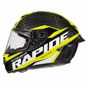 MT Rapide Pro Carbon (Kids) Helmet – Fluo, Motorbike Clothing Shop, Chelsea