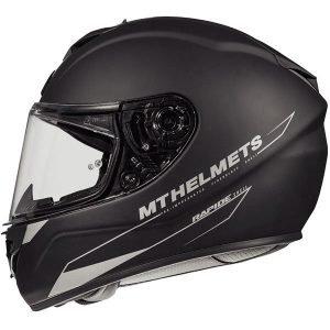 MT Rapide Helmet - Solid Full-Face Helmets - Matt Black colour