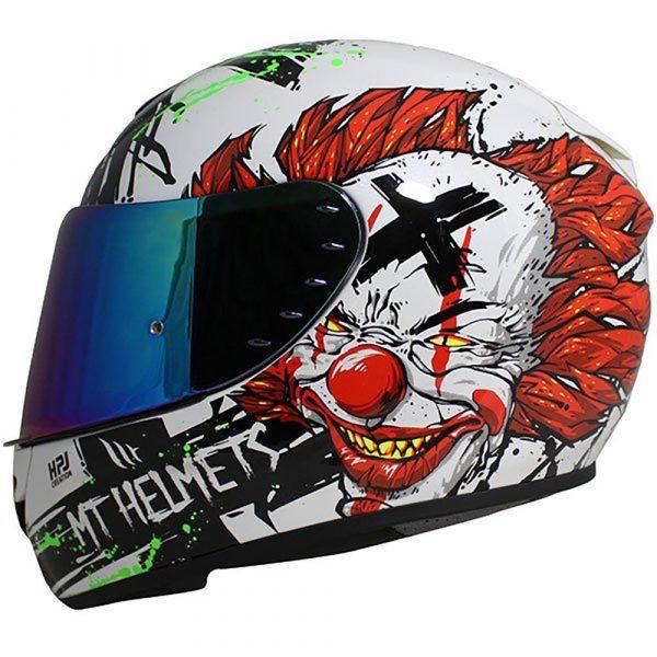 MT Blade 2 Helmet 2021 - Black/White/Red colour, CMG, UK