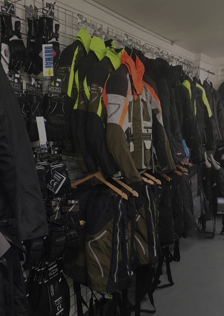 Motorcycle and scooter accessories - CMG, Chelsea Motorcycle Group Clothing Store