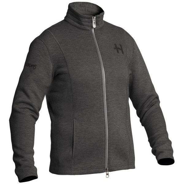 Halvarssons Djurmo Fleece Jacket - Dark Grey colour, MCS