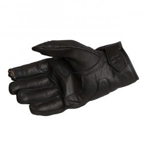 Halvarssons Hofors Gloves - Black colour, Motorbike Clothing Shop, Chelsea