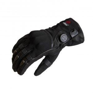 Halvarssons Ljusdal Gloves - Black/Grey colour, Motorcycles Clothing Shop