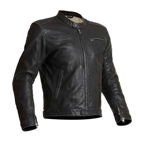 Halvarssons Idre Leather Jacket - Black colour