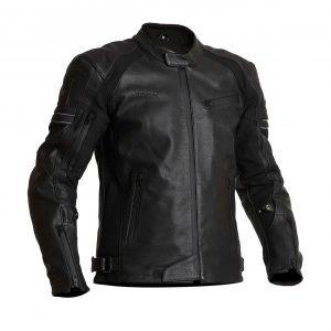 Halvarssons Selja Leather Jacket - Black colour