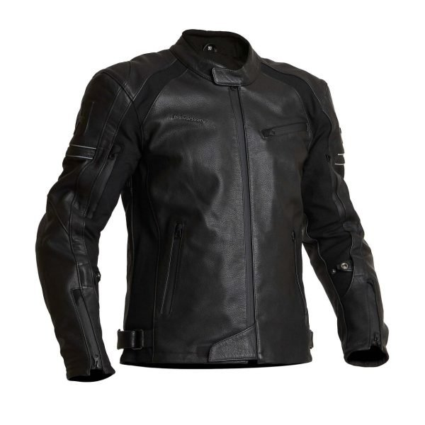 Halvarssons Selja Leather Jacket - Black colour