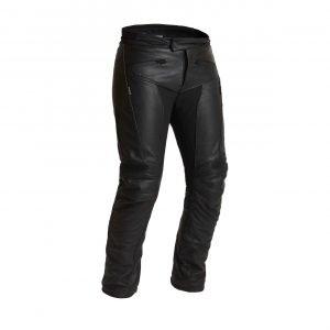 Halvarssons Oxberg Woman Leather Pants - Black colour, MCS