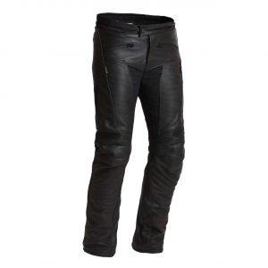 Halvarssons Rullbo Leather Pants - Black colour, Motorbike Clothing Shop, London