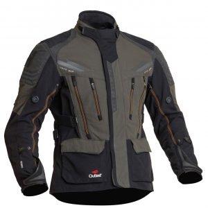 Halvarssons Mora Textile Jacket - Black/Green colour, Outlast