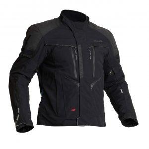 Halvarssons Vansbro Textile Jacket - Black colour, Motorcycle Clothing Shop