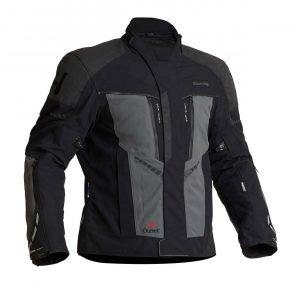 Halvarssons Vansbro Textile Jacket - Black/Grey colour, CMG
