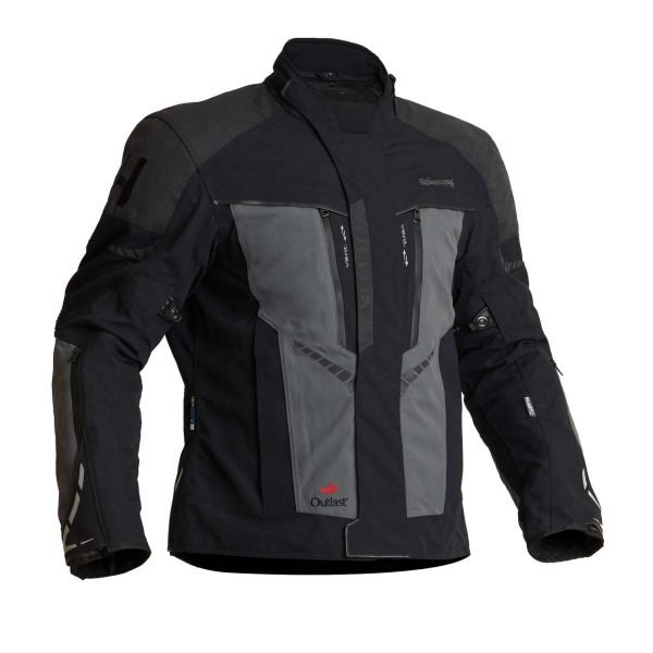 Halvarssons Vansbro Textile Jacket - Black/Grey colour, CMG