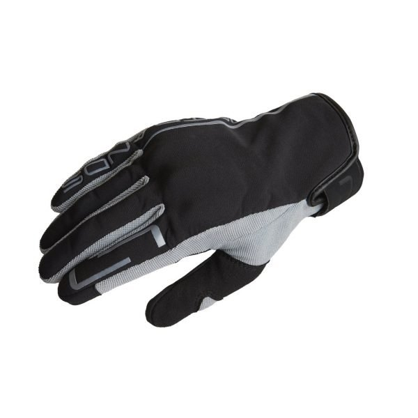 Lindstrands Eke Gloves - Black/Grey colour